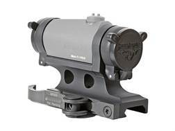 GG&G Accucam Quick-Detach Aimpoint Micro T-1, T-2, R-1, H-1 Sight Mount with Integral Flip-Up Lens Covers Picatinny-Style Matte