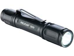 Pelican 1910 Flashlight LED with 1 AAA Battery Aluminum Black
