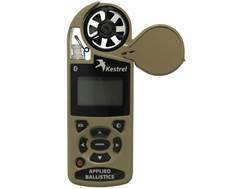 Kestrel 4500 Electronic Hand Held Weather Meter with Applied Ballistics Calculator and Bluetooth Desert Tan