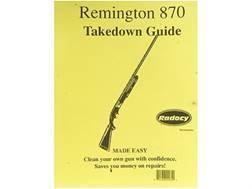 """Radocy Takedown Guide """"Remington 870"""""""