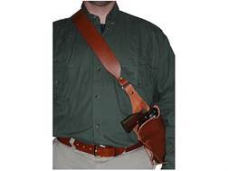 "Hunter Bandolier Style Holster S&W X-Frame 460, 500 8-3/8"" Barrel Leather Brown"