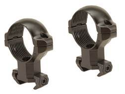 "Millett 1"" Angle-Loc Windage Adjustable Ring Mounts Tikka Matte High"