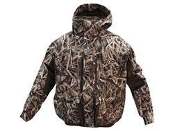 Drake Men's LST Insulated Waterfowler's Jacket 2.0 Polyester Mossy Oak Shadow Grass Blades Camo XL