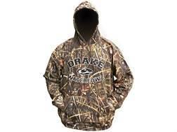 Drake Men's Logo Hooded Sweatshirt Cotton Polyester Blend