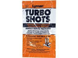 Lyman Turbo Shots Single Serve Ultrasonic Case Cleaning Solution 10 Pack
