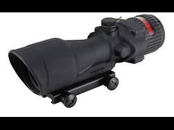 Trijicon ACOG TA648 BAC Rifle Scope 6x 48mm Dual-Illuminated Red Chevron 223 Remington Reticle with TA75 Flattop Mount Matte