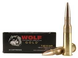 Wolf Gold Ammunition 7.62x54mm Rimmed Russian 150 Grain Full Metal Jacket Box of 20