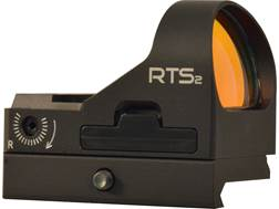 C-More RTS2R Reflex Sight 6 MOA Red Dot with Click Switch and Integral Picatinny Mount Aluminum Matte