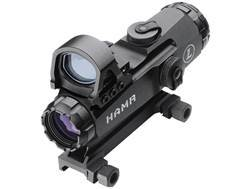 Leupold Mark 4 Tactical HAMR Rifle Scope 4x 24mm 1/10 Mil Adjustments Illuminated CMR2 Reticle Matte with Integral Picatinny-Style Mount and 7.5 MOA DeltaPoint Red Dot Sight