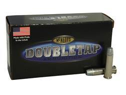 Doubletap Ammunition 357 Magnum 200 Grain Hard Cast Solid Wide Flat Nose Gas Check Box of 50