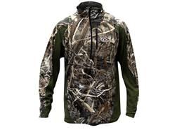 Drake Men's EST Base Layer Shirt Long Sleeve Polyester Realtree Max-5 Camo