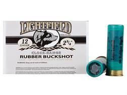 "Lightfield Wildlife Control Less Lethal Ammunition 12 Gauge 2-3/4"" Close Range 00 Rubber Buckshot..."