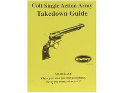 "Radocy Takedown Guide ""Colt Army Single Action"""