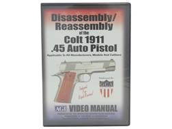 "American Gunsmithing Institute (AGI) Disassembly and Reassembly Course Video ""Colt 1911 .45 Auto Pistols"" DVD"