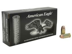 Federal American Eagle Suppressor Ammunition 45 ACP 230 Grain Full Metal Jacket Subsonic Box of 50