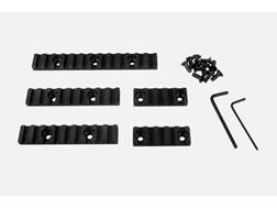 "Vltor CASV Picatinny Rail Kit with 2-2"", 2-4"", 1-5"" Sections Aluminum Black"