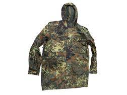 Military Surplus New Condition German Parka Flecktarn Camo XL