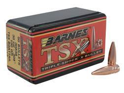 Barnes Triple-Shock X Bullets 30 Caliber (308 Diameter) 130 Grain Hollow Point Boat Tail Lead-Free Box of 50