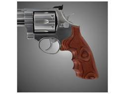 Hogue Fancy Hardwood Grips with Finger Grooves Taurus Medium and Large Frame Revolvers Square Butt Rosewood Laminate