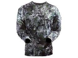 Sitka Gear Men's Core Crew Base Layer Shirt Long Sleeve Polyester Gore Optifade Elevated Forest Camo Small 36-38