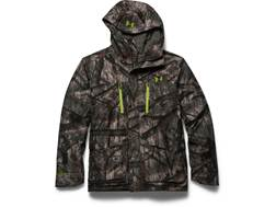 Under Armour Men's Scent Control ColdGear Infrared Gore-Tex Insulator Jacket Polyester and Gore-Tex Blend Mossy Oak Treestand XL