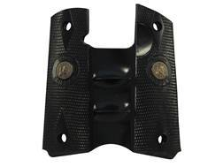 Pachmayr Signature Grips 1911 Government, Commander Rubber Black