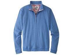 Mountain Khakis Men's Eagle Quarter Zip Shirt Long Sleeve Synthetic Blend Storm Blue XL 46-48