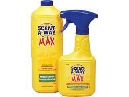 Hunter's Specialties Scent-A-Way MAX  Scent Elimination Max Combo Field Spray Liquid