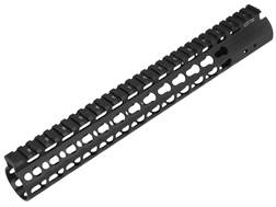 UTG Pro Super Slim KeyMod Free Float Rifle Length Handguard AR-15 Aluminum Black 13""