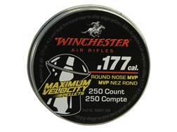 Winchester Hyper Velocity Airgun Pellets 177 Caliber 9.8 Grain Round Nose Pellets Tin of 250