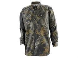 Russell Outdoors Men's Scent-Stop Pro Shirt Long Sleeve Cotton Polyester Blend Mossy Oak Break Up Camo Medium 38-40