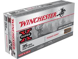Winchester Super-X Ammunition 35 Remington 200 Grain Power-Point