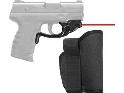 Crimson Trace Laserguard Taurus Millennium Pro Polymer Black with Pocket Holster