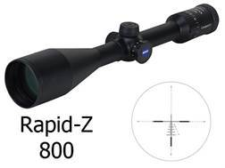 Zeiss MC Conquest Rifle Scope 4.5-14x 50mm Side Focus Rapid Z 800 Reticle Matte Factory Reconditioned