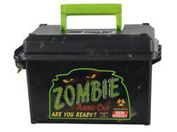 MTM Limited Edition Zombie Ammunition Can 50 Caliber Plastic Black