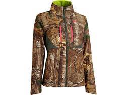 Under Armour Women's ColdGear Infrared Scent Control Speed Freak Jacket Polyester Realtree Xtra Camo Small 4-6