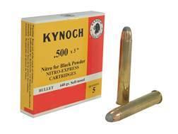 "Kynoch Ammunition 500 Black Powder Express 3"" 440 Grain Woodleigh Weldcore Soft Point Box of 5"