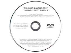 """Gun Video """"Gunsmithing the 1911"""" by Jerry Kuhnhausen DVD"""