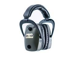 Pro Ears ProSlim Gold Electronic Earmuffs (NRR 28 dB) Green