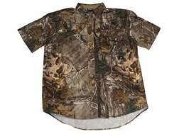 ScentBlocker Men's Recon Lifestyle Shirt Short Sleeve Polyester Realtree Xtra Camo Large 42-44