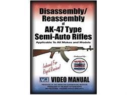 "American Gunsmithing Institute (AGI) Disassembly and Reassembly Course Video ""AKS, MAK90, AK-47 Semi-Auto Rifles"" DVD"