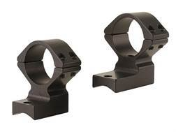 """Talley Lightweight 2-Piece Scope Mounts with Integral 1"""" Extended Front Savage 10 Through 16, 110 Through 116 Round Rear, Axis Matte"""