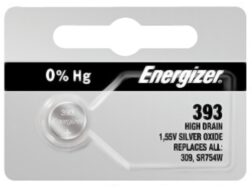Energizer Battery 393 Silver Oxide