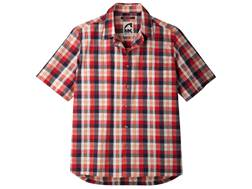 Mountain Khakis Men's Deep Creek Crinkle Shirt Short Sleeve Cotton Multi