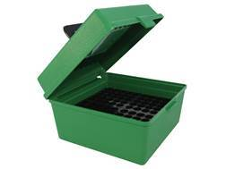 MTM Deluxe Flip-Top Ammo Box with Handle 7mm Winchester Short Magnum (WSM) to 470 Capstick 100-Round Plastic