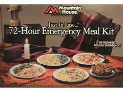 Mountain House Just in Case 72-Hour Emergency Freeze Dried Food Kit