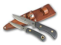 Knives of Alaska Trekker Pronghorn Hunter/Cub Bear Combination Fixed Blade Knife Set D2 Tool Steel Blades SureGrip Handle Black