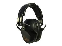 Walker's Buck Commander PRO-Low Profile Folding Earmuffs (NRR 31dB) Black