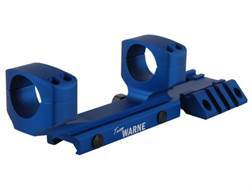 """Warne RAMP 1-Piece Extended Scope Mount Picatinny-Style with Integral 1"""" Rings Flattop AR-15"""