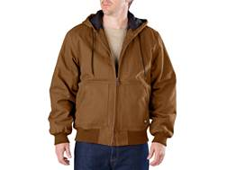 Dickies Sanded Duck Hooded Jacket Cotton Brown